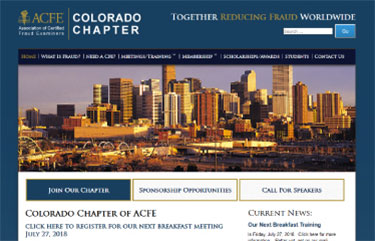 Colorado Chapter Of Acfe